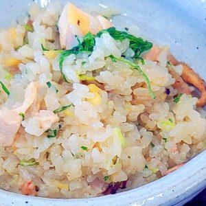 水炊きセットで作る簡単鶏の炊き込みご飯